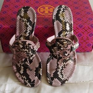 Pink Snake Tory Burch Millers